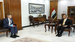 The President of the Supreme Judicial Council meets the US ambassador