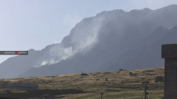 Turkish shelling ignites fires in large agricultural lands in Duhok