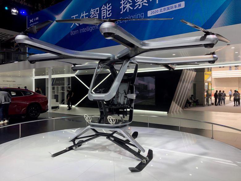 الصين تبدأ بتشغيل السيارات الطائرة