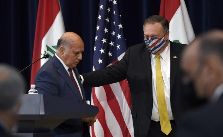 Iraq calls on Washington to reconsider the decision of closing its embassy in Baghdad 1601461034291