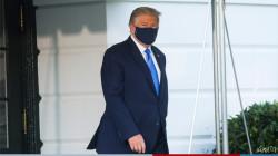 صور .. أول ظهور لترامب بعد اصابته بكورونا .. ماذا قال عن حالته الصحية؟