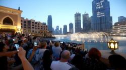 """اسرائيل تدشن """"عرش اليهود"""" أمام برج خليفة في دبي.. فيديو"""