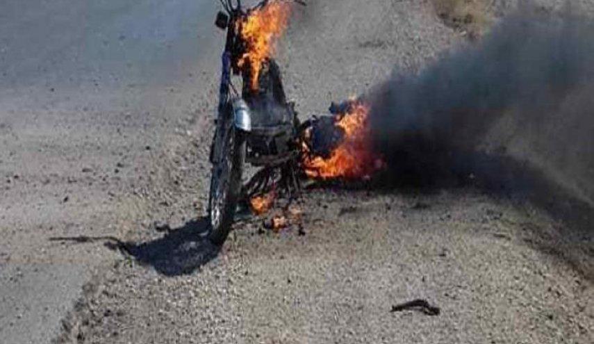 إصابة رجل أمن وتضرر عجلة مدنية بانفجار عبوة في الانبار
