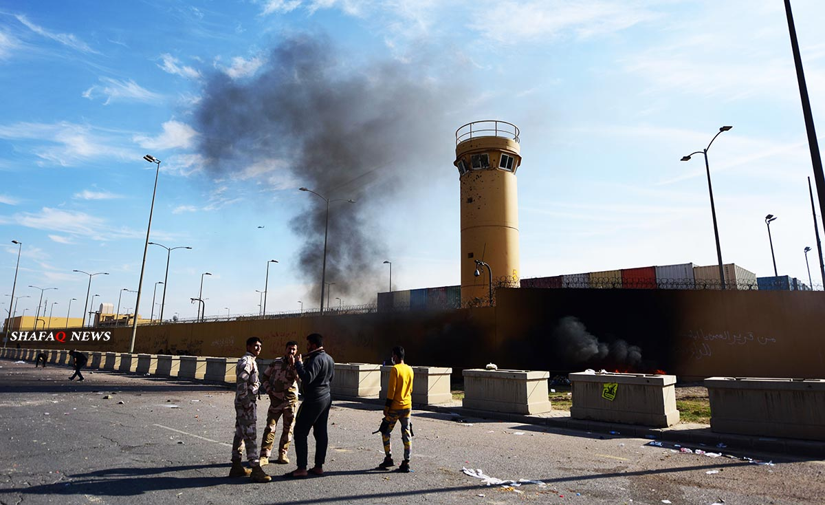 Iraq identifies three factors behind the reduction of the attacks on the US embassy
