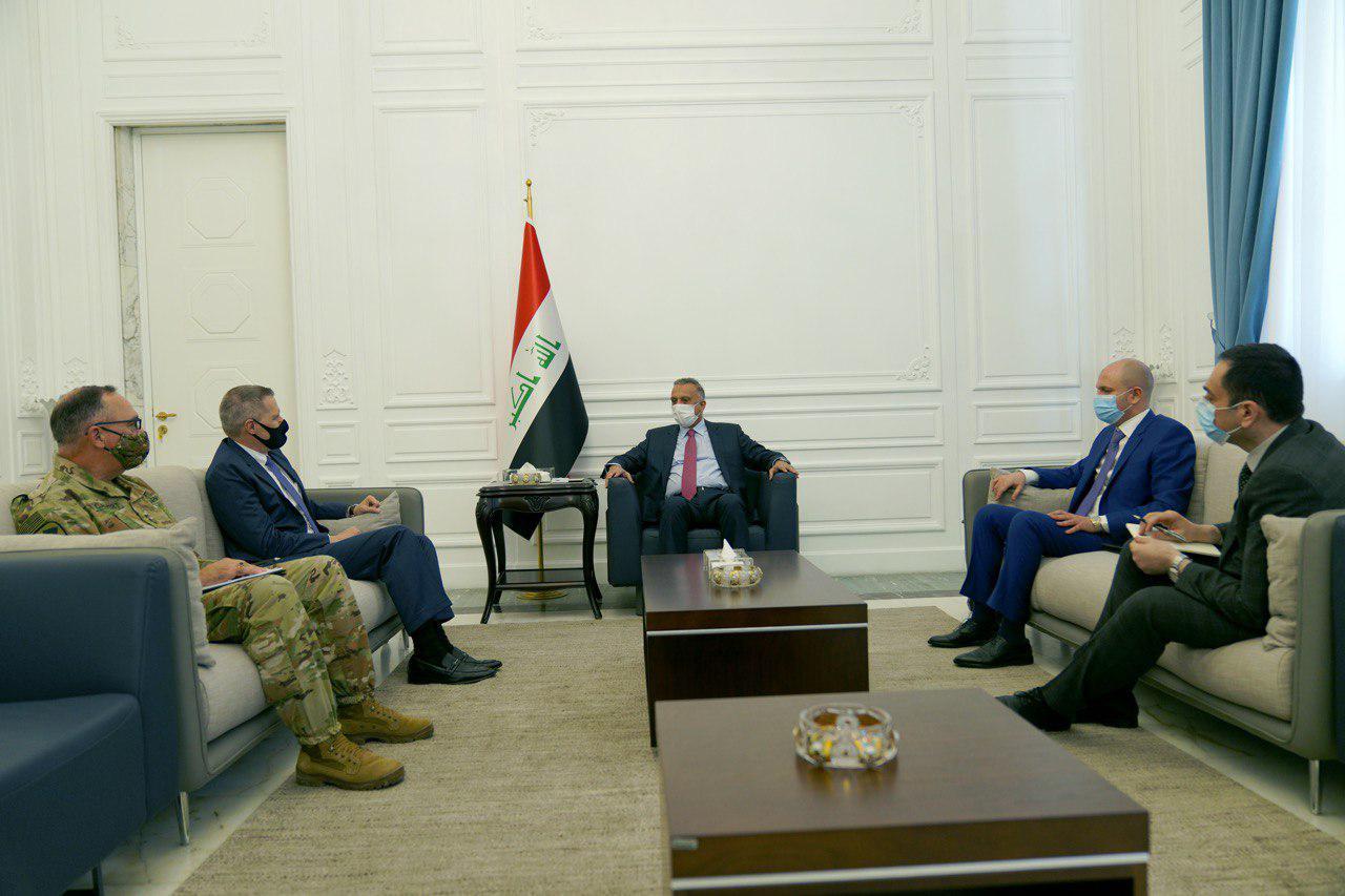 Iraqi PM meets US. Ambassador 1601998035121