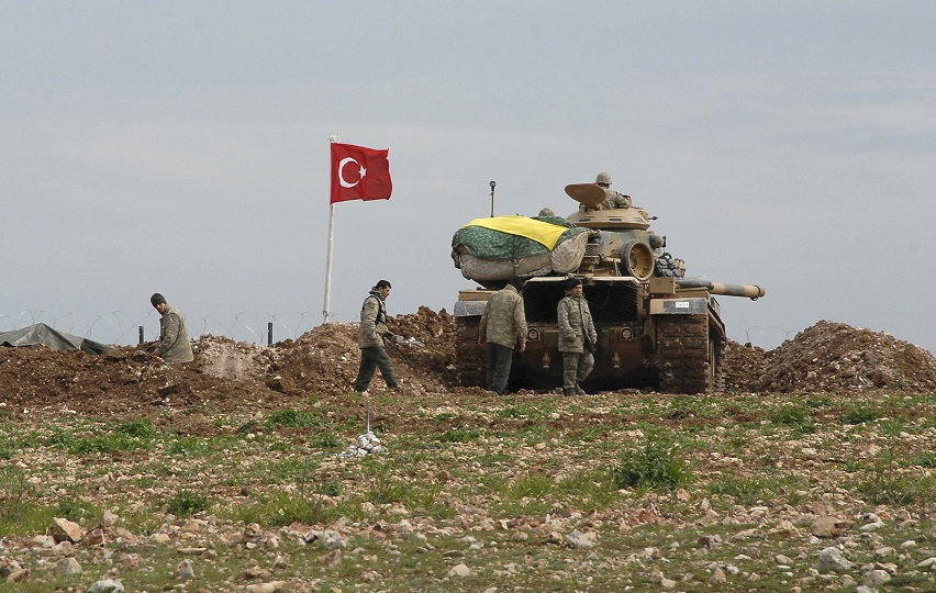 The Turkish army stormed a village in Duhok