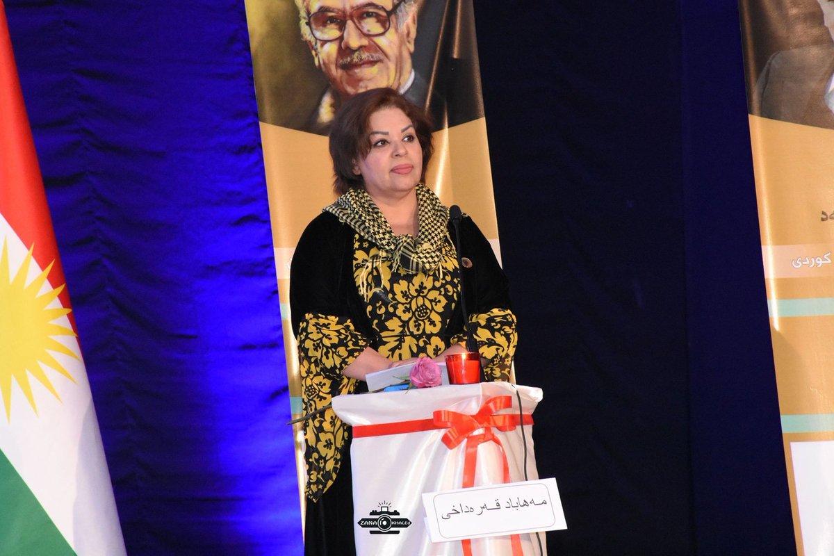 وفاة شاعرة ومستشارة سابقة لحكومة إقليم كوردستان بفيروس كورونا