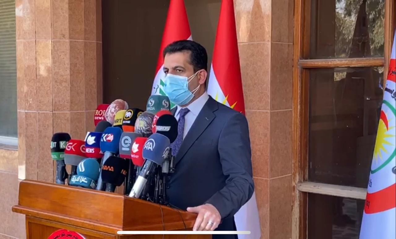 وزير الصحة يؤكد عقد اجتماع للجنة العليا لتقييم الموقف الوبائي بالاقليم