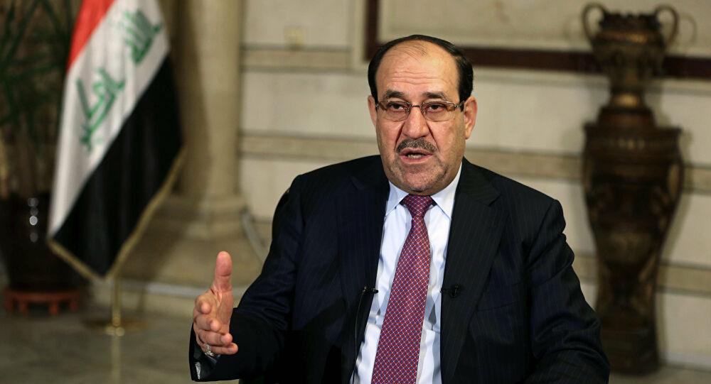 """المالكي: لجنة """"الكاظمي"""" لمكافحة الفساد """"مخالفة للدستور"""" وستكون لنا """"مواقف"""" ضد عودة البعث"""