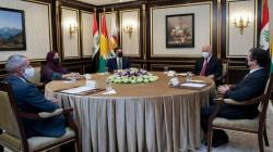 Kurdistan's three Presidencies meet in the presence of the President of the Republic