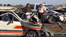 9 ضحايا في حادث سير مروّع بمنطقة كرميان