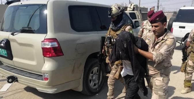 """""""ابو عائشة"""" و """"ابو اسحاق"""" بقبضة الأمن في عمليتين منفصلتين في بغداد"""