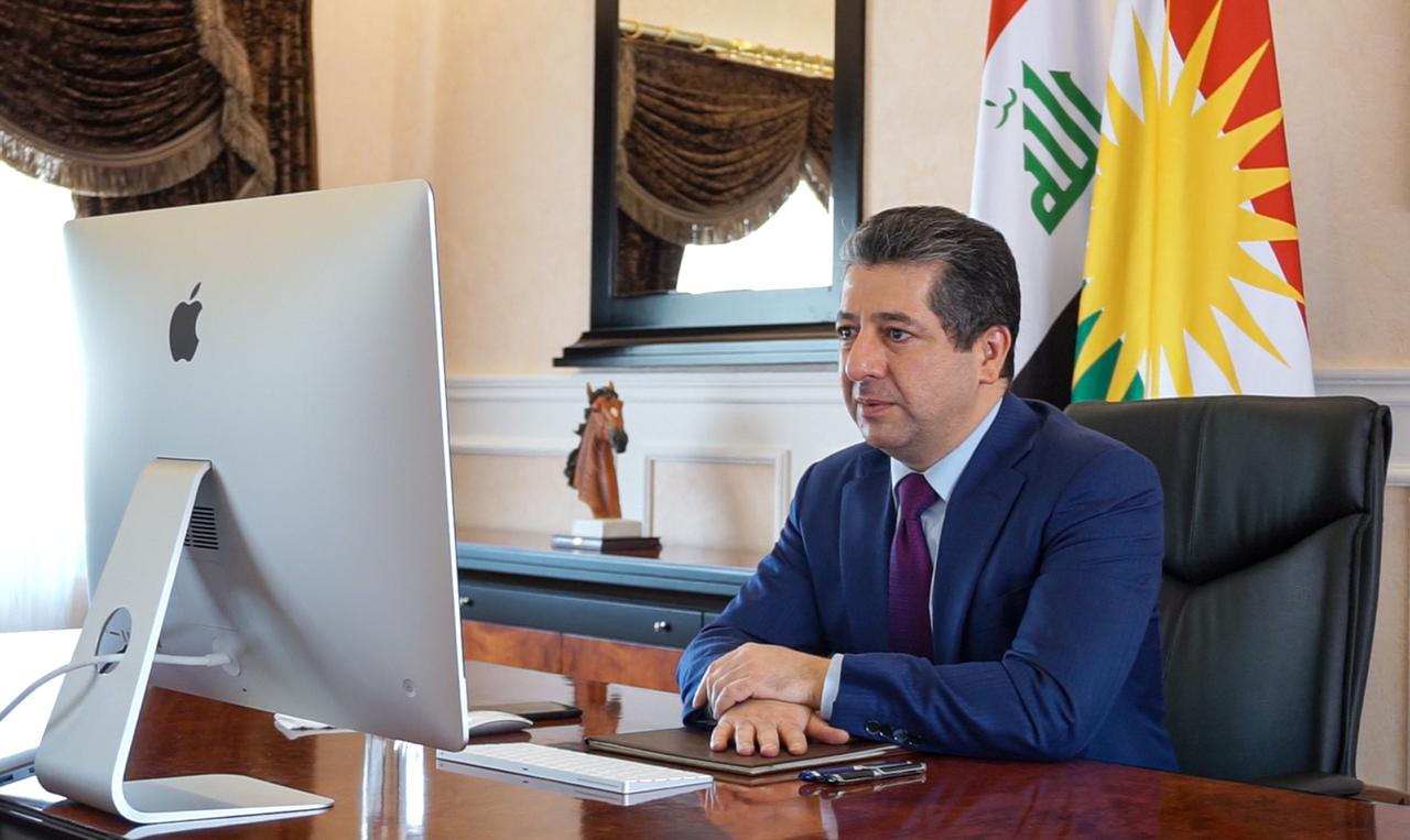"""To """"stronger Kurdistan"""" by implementing infrastructure projects, Barzani says"""