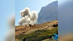 المقاتلات التركية تقصف مرتين شمال اربيل وتضرم النيران بمناطق جبلية