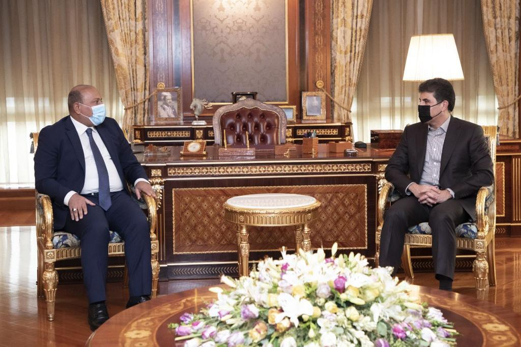 Barzani receives an invitation from Karbala's local government to visit the governorate