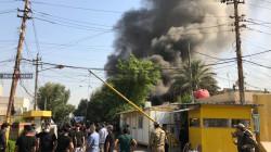 قيادي بالحشد يقرُّ: جماهيرنا من احرق مقر الديمقراطي الكوردستاني ببغداد