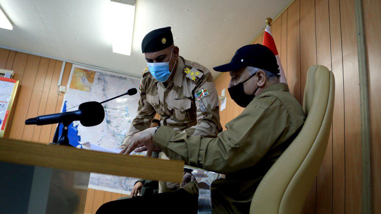 الكاظمي لأهالي صلاح الدين: الدولة ستحميكم والخوف لايجب ان يكون حاضرا