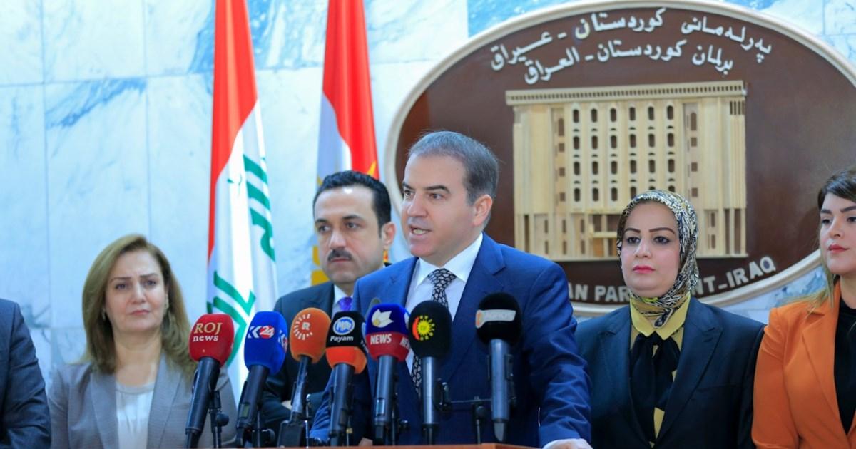 برلمان اقليم كوردستان ينتظر جوابا من الحكومة بشأن مساءلتها