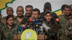 """قائد قوات """"قسد"""" يدعو لمحاسبة من أحرق علم كوردستان في بغداد"""