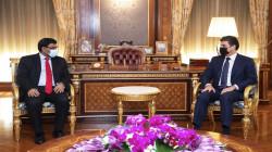 Nechirvan Barzani invites Indian companies to invest in Kurdistan region