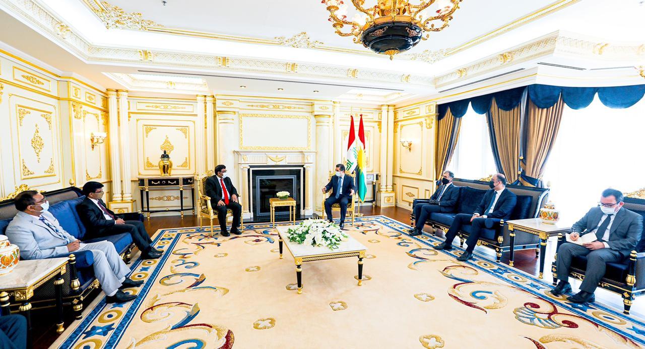 الهند تعرض على كوردستان تعزيز العلاقة بثلاثة مجالات