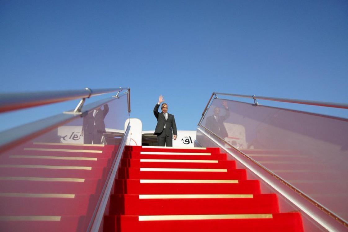 Al-Kadhimi takes off to Paris