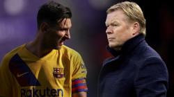 كومان يكشف تفاصيل اجتماعه مع ميسي واسم مهاجم برشلونة الجديد