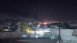 انفجار خزان وقود يقطع طريقا رئيسا بين كركوك وطوزخورماتو