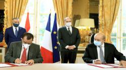 العراق يوقع ثلاث مذكرات مع فرنسا في مجالات النقل والزراعة والتعليم