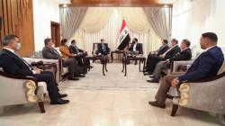 Iraq' Speaker of meets with the Kurdistan Democratic Party