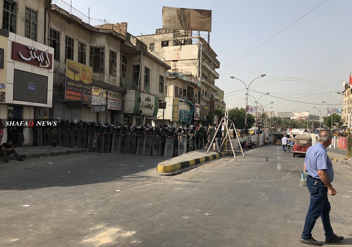 فيديو+صور.. عمليات بغداد تعيد افتتاح طريق حيوي وسط العاصمة أغلق منذ عام