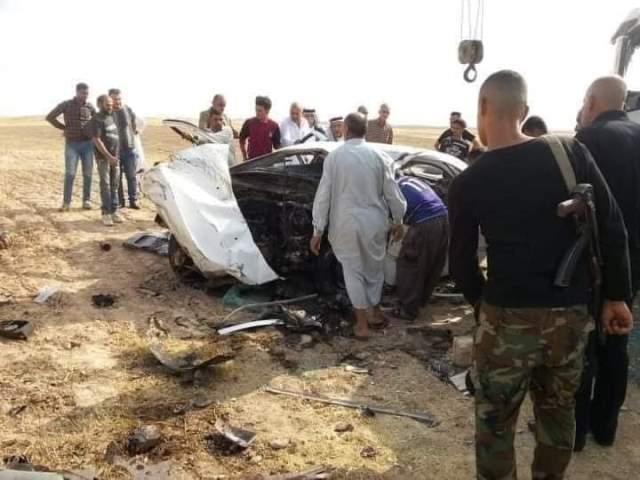 مصرع واصابة 6  اشخاص بحادث سير في ديالى