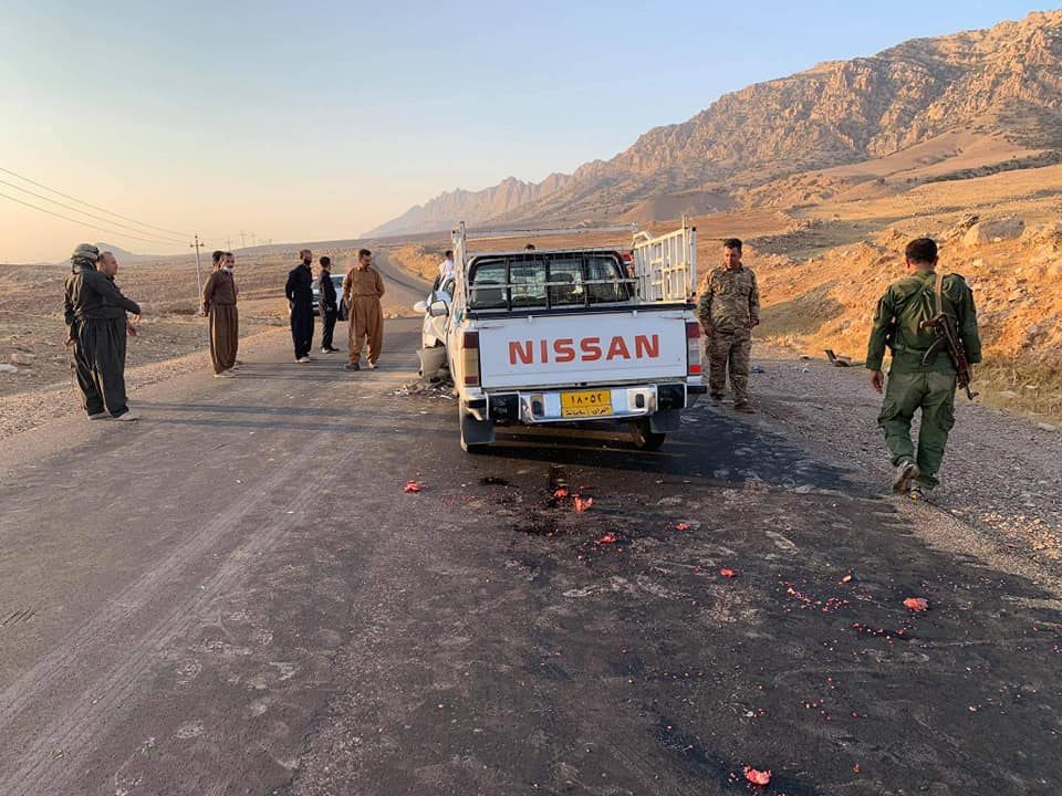 Nine injured in a traffic accident in Al-Sulaymaniyah