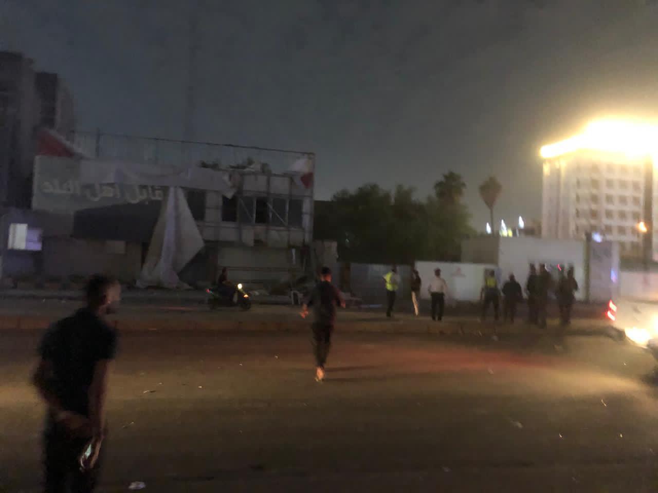 انفجار عبوة ناسفة قرب محل لبيع الخمور وسط بغداد