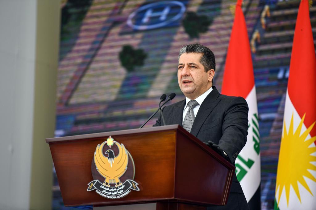 رئيس الحكومة: حصة كوردستان من الواردات الاتحادية حق وليست هبة