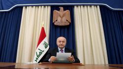 برهم صالح يؤكد على اربعة أمور تسبق إجراء الاقتراع: الفساد الانتخابي آفة خطيرة
