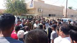 اعتصامات وقطع طرق في قرية عراقية احتجاجاً على خروقات امنية