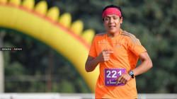 لاعبة بنادي بيشمركة السليمانية تحرز المركز الأول في فعالية 800م بألعاب القوى