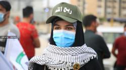 """بشعارات مناوئة لأمريكا.. """"ربع الله"""" يطالبون بخروج القوات الأجنبية.. صور"""