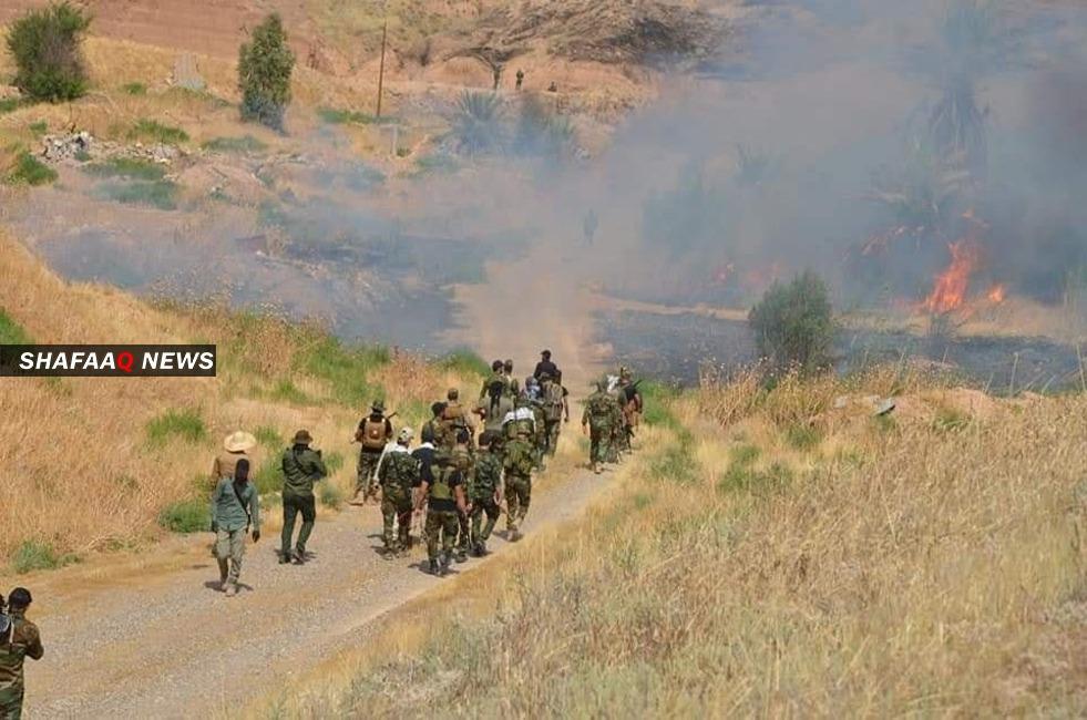 الحشد الشعبي يتصدى لهجوم لداعش شمالي ديالى