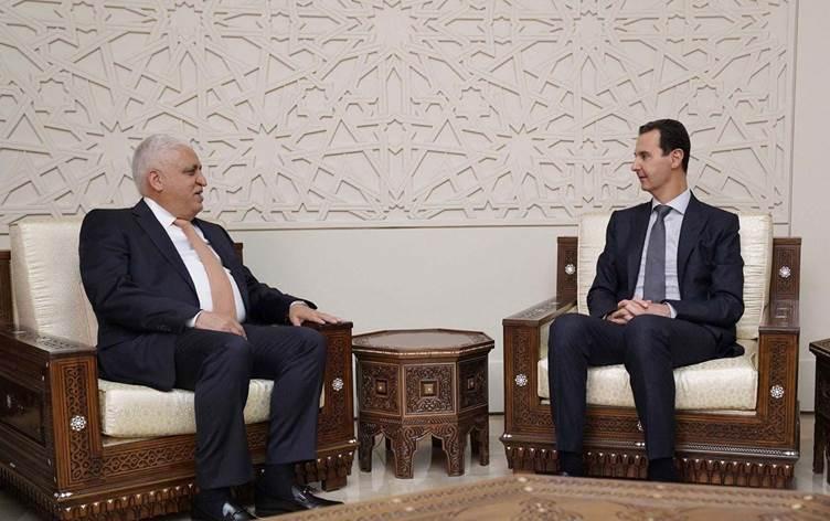 الفياض يصل دمشق للقاء الأسد والملف الأمني يتصدر المباحثات