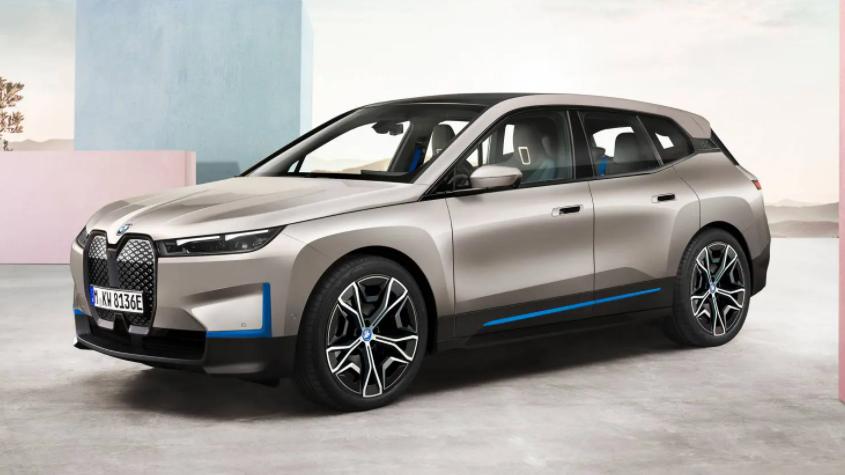 BMW iX .. أول سيارة فاخرة مزودة باتصال 5G