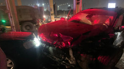 صور.. حادث سير يخلّف 3 إصابات وتضرر دورية للنجدة ببغداد