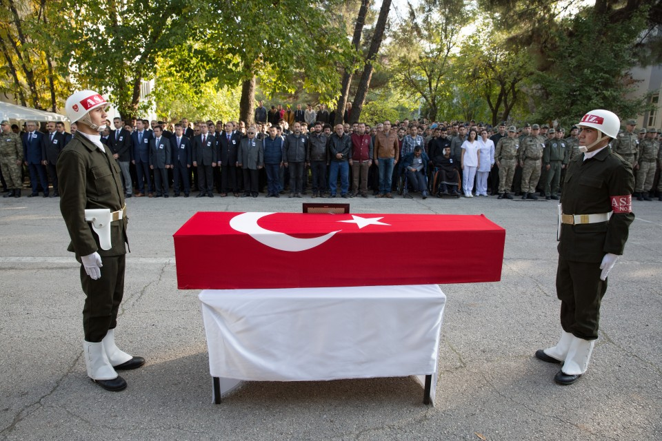 A Turkish officer was killed on the border with Iraq