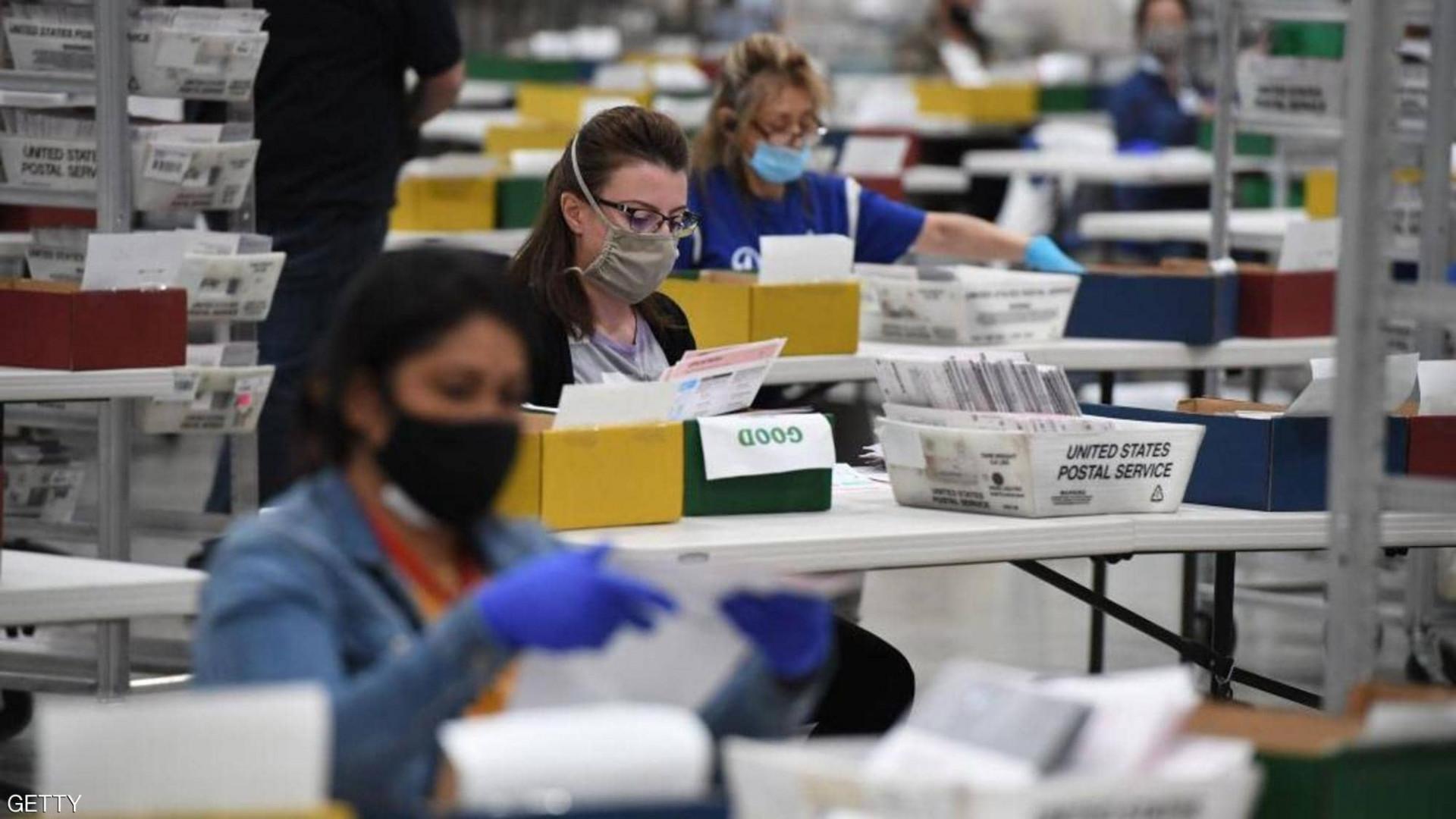 """إعادة فرز أصوات ولاية أمريكية تكشف """"مفاجأة"""""""