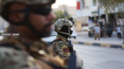The Iraqi security forces seize an ISIS's explosives factory