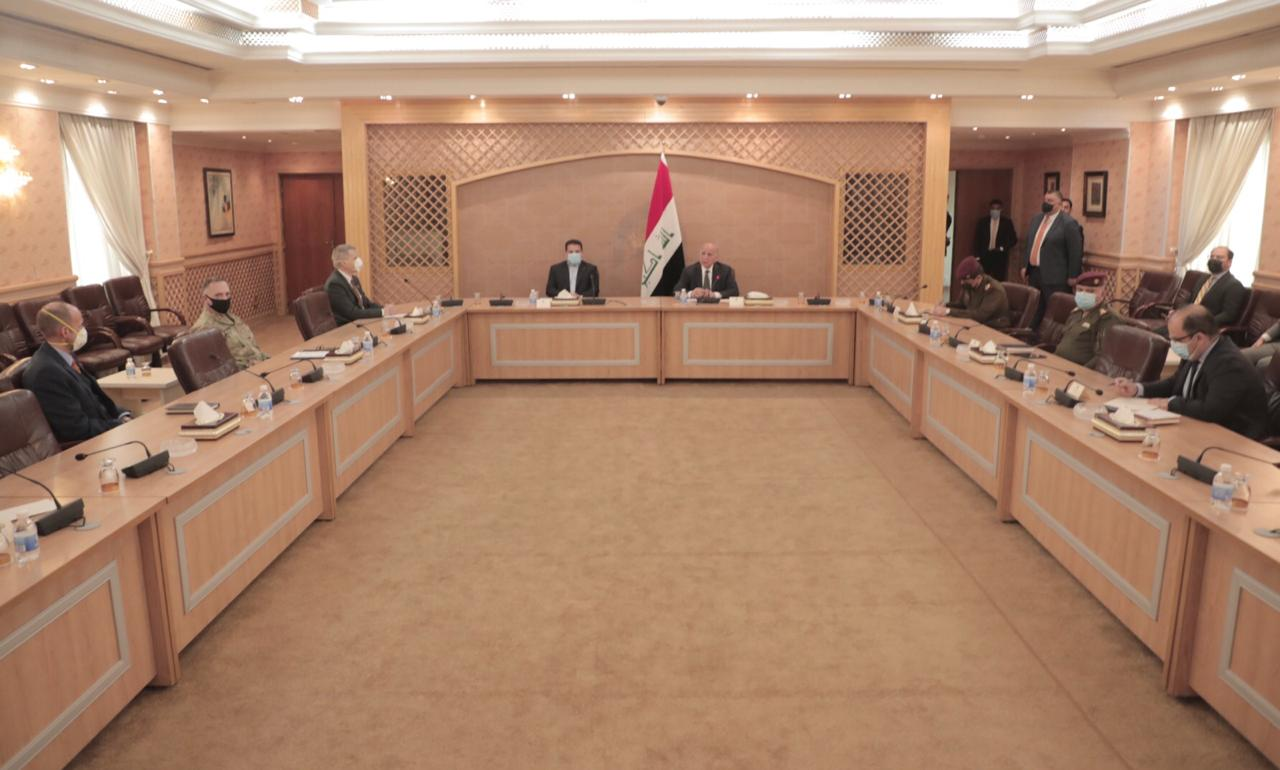 Iraqi-U.S. meeting to schedule the withdrawal of U.S. troops from Iraq
