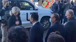 الممثلة الخاصة للأمم المتحدة في العراق تصل الى مدينة الموصل