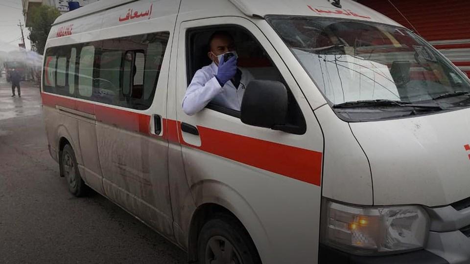 صورة .. مصرع عائلة من 5 أفراد بسقوط سيارة في نهر بديالى
