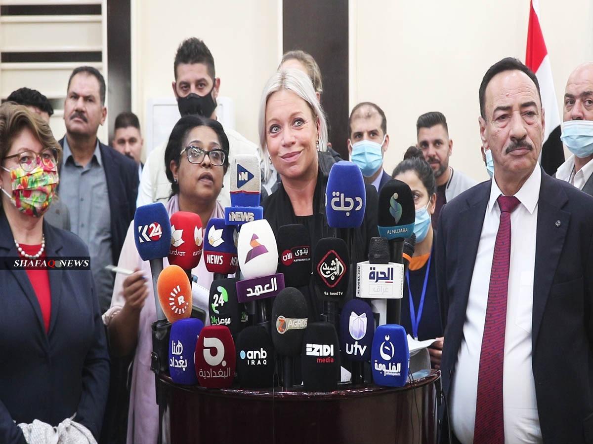 """UN Special Representative will """"fight"""" for Sinjar"""
